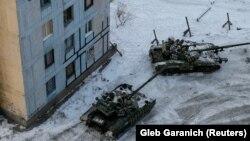 Ukrayna tankları Avdeyevkada
