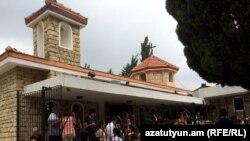 Թուրքիա - Խաղողօրհնեքը Վաքըֆլըի Սուրբ Մարիամ Աստվածածին եկեղեցում, արխիվ