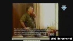 Ratko Mladić naručuje auto za Milana Lešića par dana od zauzimanja Srebrenice - snimak prikazan na suđenju Karadžiću