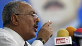 President Ali Abdullah Saleh has rejected a plan where he would step down at the end of the year.