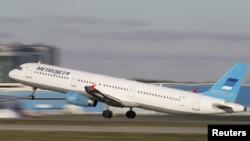 Airbus A-321 авиакомпании Metrojet