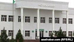 "Turkmenistan -- New region ""Altyn Sahra"". High school. Mary. January 5, 2014"