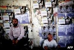 Предвыборные плакаты Хасана Рохани и Мохсена Резайи
