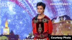 "Atai Omurzakov appears in ""Czech-Slovakia's Got Talent."""