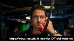 Actor Gerard Butler in a still from the film Hunter Killer.
