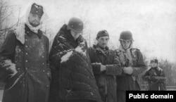 Немецкие военнопленные под Сталинградом, начало 1943 года