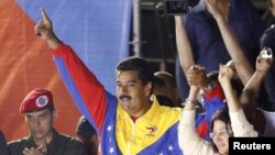 Venezuelan President-elect Nicolas Maduro