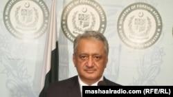 د پاکستان خارجه چارو وزارت ویاند قاضي خلیل الله