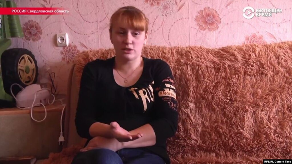 Yelena Matveyeva says her husband's parents have heard nothing about the fate of their son.