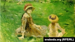 Бэрта Марызо, «У садзе ў Марэнкуры» (1884)