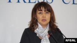 Джамиля Джакишева, жена бывшего президента «Казатомпрома» Мухтара Джакишева. Алматы, 2 декабря 2009 года.