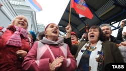 Российский пассажирский поезд «Таврия» из Санкт-Петербурга прибыл в Севастополь