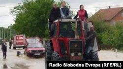 Наводнение в Шамац. Босния и Герцеговина, 17 мая 2014 года.