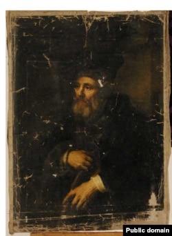 Юдаль Пэн. «Стары зь пяром». 1885 год