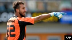Eýranyň milli ýygyndy futbol toparynyň oýunçysy, 29 ýaşyndaky derwezeçi Sosha Makani.