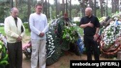 Пісьменьнікі Анатоль Вярцінскі, Алесь Пашкевіч, Барыс Пятровіч