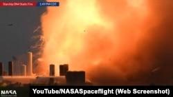 Авария при испытании Starship SN4