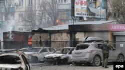 Mariupol, 24 janar 2015.