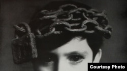 The above image used in a 1970 Radio Free Europe print advertisement, with the caption, 'He needs a mind of his own.'