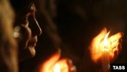 """В 23:35 на центральной площади Цхинвала начнется акция скорби """"Живой Свет Памяти"""""""