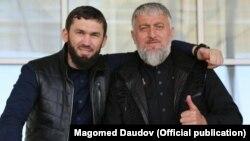 Магомед Даудов и Адам Делимханов