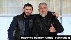 Магомед Даудов (слева) и Адам Делимханов (справа). Иллюстративное фото