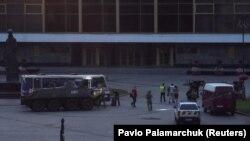 Затримання чоловіка, який захопив автобус із заручниками, Луцьк, 21 липня 2020 року