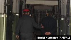 Kyrgyzstan -- The deputy imam of Osh City among six people who are suspected for terrorism, Osh, 19Feb2014