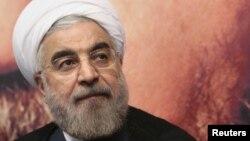 Президент Ирана Хасан Роухани. Тегеран, 1 июня 2013 года.
