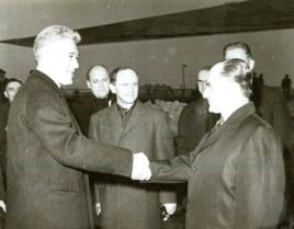 Corneliu Manescu înaintea plecării în Germania (Fototeca online a comunismului românesc)