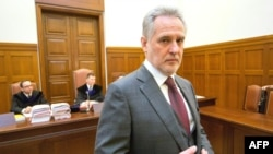 Дмитрий Фирташ в австрийском суде, 21 февраля 2017 года