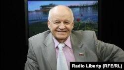 Виктор Черепков в студии Радио Свобода