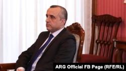 د ولسمشر لومړی مرستیال امرالله صالح