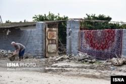 طغیان رودخانهها و بارندگیهای شدید در مازندران نیز به مزارع و باغها خسارت زدهاست.