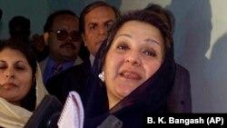 Պակիստանի նախկին վարչապետ նավազ Շարիֆի կինը՝ Կուլսուն Նավազը, արխիվ: