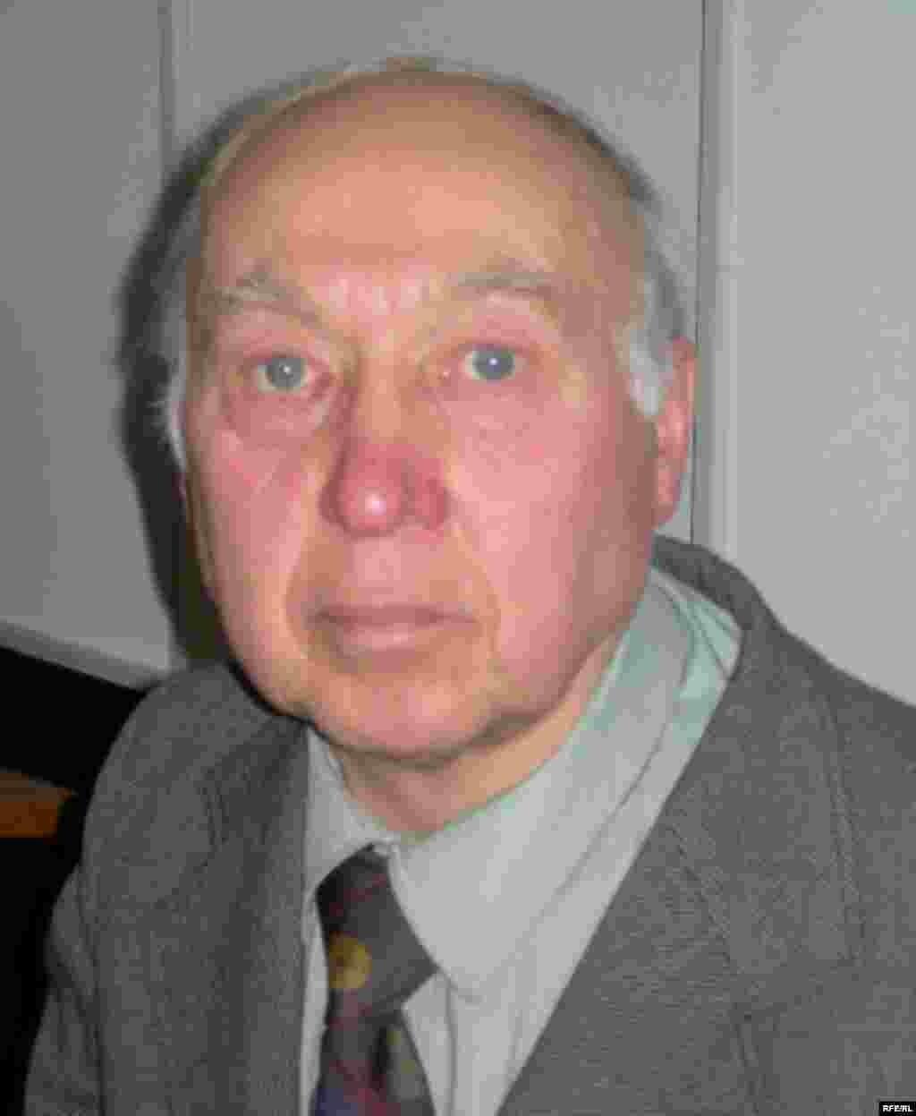 Пенсионер, житель Рязанской области Борис Филин