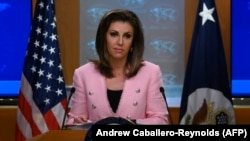 U.S. State Department spokesperson Morgan Ortagus. FILE PHOTO