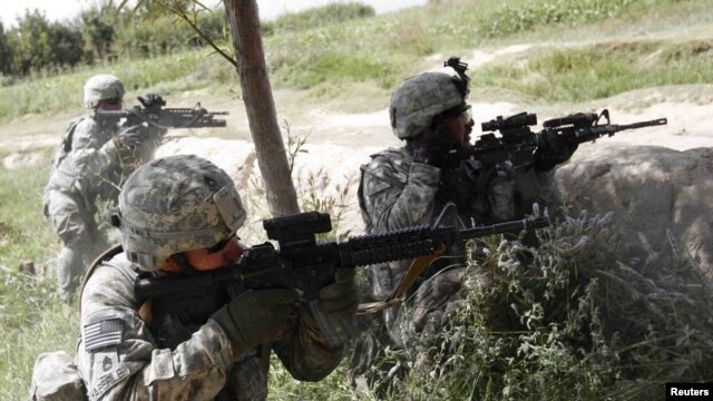 """The military offensive """"Operation Dragon Strike"""" has begun in the southern Afghan city of Kandahar. U.S. soldiers fired back at members of the Taliban  on September 9 in Kandahar province."""