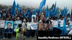 Мітинг опозиції в Баку