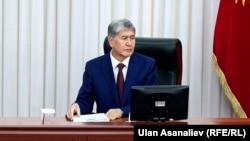 Kyrgyzstan - Jogorku Kenesh - president of the Kyrgyz Republic Almazbek Atambaev - 28.04.2016