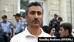 Әзербайжандық оппозициялық саясаткер Фуад Гахраманлы.