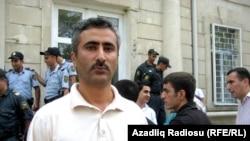Заместитель председателя азербайджанской оппозиционной партии Народный фронт Азербайджана (ПНФА) Фуад Гахраманлы.