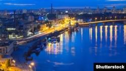 Киев, вид на Подол.(©Shutterstock)