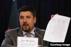 Former Afghan spy chief Rahmatullah Nabil