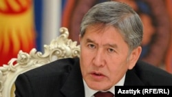 Presidenti në largim i Kirgizisë, Almazbek Atambaev.