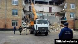 Обвал стіни в школі у Василькові, 11 жовтня 2016 року