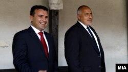 Зоран Заев и Бојко Борисов во Скопје, 1 август 2019 година