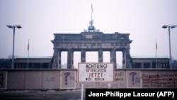 Знімок, зроблений у 1988 році: вигляд із Західного Берліна на Східний Берлін