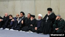 مراسم یادبود قاسم سلیمانی در دفتر رهبر جمهوری اسلامی