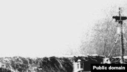Торговое судно в Бискайском заливе столкнулось с гигантской волной. Фото National Oceanic and Atmospheric Administration.